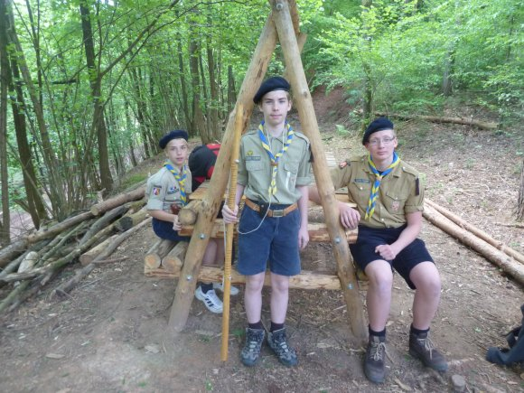 Rencontre avec le scout