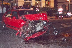 Accident routier en 2001